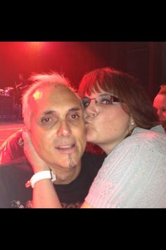 My most favorite moment!!!  After the show at horseshoe casino in Hammond Indiana in July, 2013!!!!!  I was the happiest woman!!!!!