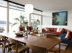 現代時尚的家,有著不可多得的海濱美景!澳洲Scotland Island的度假屋