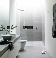 """40 curtidas, 2 comentários - Ray White West Torrens (@raywhitewesttorrens) no Instagram: """"Bathroom inspiration #inspiration #bathroom #design #architecture #home #realestate #raywhite…"""""""