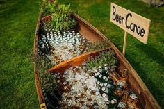 25 Reasons to Love an Outdoor Fall Wedding The brisk temperature mean you can have a beer canoe without worrying about anything getting warm. The post 25 Reasons to Love an Outdoor Fall Wedding appeared first on Outdoor Ideas. Perfect Wedding, Diy Wedding, Dream Wedding, Wedding Day, Wedding Bells, Spring Wedding, Canoe Wedding, Wedding Gowns, Destination Wedding