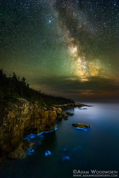 Glowing Coast by Adam Woodworth | Earth Shots