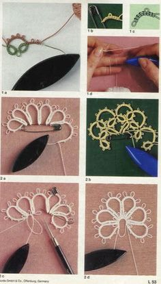 Tatting pattern japanese tatting book tatting by LibraryPatternsTatting lace lesson japanese craft ebook by LibraryPatterns by Fiona ThompsonImmerse Yourself In The Japanese LanguageAlbum Archive - Sumi Fujishige - Lesson Book of the Tatting lace - 2011 Filet Crochet, Irish Crochet, Crochet Lace, Russian Crochet, Thread Crochet, Crochet Doilies, Shuttle Tatting Patterns, Needle Tatting Patterns, Needle Tatting Tutorial