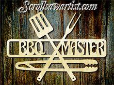 Wood sign - BBQ Master/Grill Master