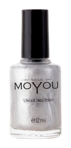 Silver, Glitter Top Coat, Peachy Passion Colours Stamping Nail Polish by MoYou Nail used to Create Beautiful Nail Art Designs Sourced Directly from the Manufacturer - Bundle of 3 -- Want to know more, click on the image.