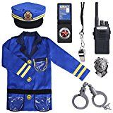 PROLOSO Police Officer Costumes Role Play Kit Ages 36 Years *** For more information, visit image link. Toy Cars For Kids, Kids Ride On Toys, Toys For Girls, Kids Toys, Little Girl Toys, Dress Up Costumes, Boy Costumes, Police Officer Costume, Ken Doll
