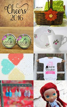 Welcoming 2016! by AmberandAlyssa on Etsy--Pinned with TreasuryPin.com