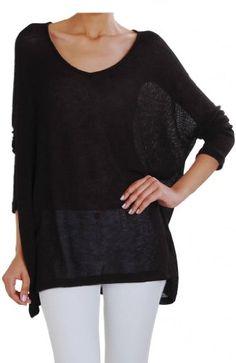 Humble Chic Dolman Sleeve Sweater