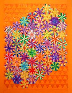 Linda Rotz Miller Quilts and Quilt Tops for Sale Millefiori Quilts, One Block Wonder, Tumbling Blocks, Place Mats Quilted, Traditional Quilts, Scrappy Quilts, Quilt Top, Quilt Blocks, Stripes