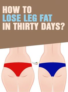 How To Lose Leg Fat In Thirty Days - Focus Fitness