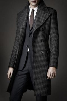 Winter coat mantel burberry, sharp dressed man, well dressed men, frocks, t Sharp Dressed Man, Well Dressed Men, Trench Coat Homme, Look Fashion, Mens Fashion, Winter Fashion, Fashion Suits, Fashion Photo, Fashion Clothes