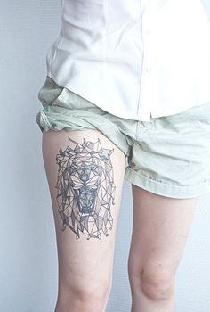 Geometric Lion.