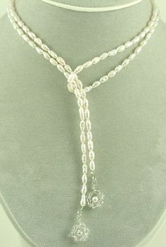 how to make a lariat necklace -
