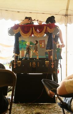 suitcase puppet show - Google Search