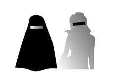 The little differences. Burka-mirror and the western likeness. #ncc