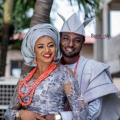 Beautiful #asoebi #asoebispecial #speciallovers #wedding #makeover #dope #headgear #bead #traditional #cultural  Modupe & Ayo 2016. Photo credit @bumtosh Bride @modoopsy Groom @enigma1759 Mua @Hephzibah_makeovers