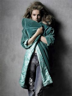 deep egg shell blue velvet coat