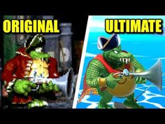 King K. Rool was one of the most anticipated characters to join Super Smash Bros. Many of his moves originated in classic DK games, like his Blunderbuss from. K Rool, Donkey Kong Country, Super Smash Bros, Videogames, Nintendo, Animation, King, The Originals, Youtube