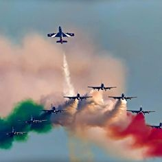Air Show 2019 - Lignano Sabbiadoro Air Fighter, Fighter Jets, National Flag India, Indian Flag Wallpaper, Flying Vehicles, Airplane Fighter, Airplane Photography, Happy Independence Day, Air Show