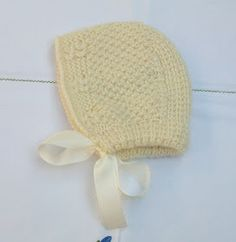 Blog Abuela Encarna Crochet Baby Hat Patterns, Crochet Baby Hats, Knitted Hats, Knitting For Kids, Winter Hats, Color Beige, Bonnets, Knitting Tutorials, Baby Things