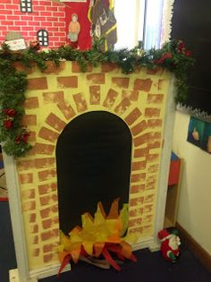 Foundation Stage Stickney Christmas Grotto Ideas, Outdoor Christmas Decorations, Christmas Activities, Christmas Themes, Christmas Crafts, Christmas Makes, Winter Christmas, Xmas, Home Corner Ideas Early Years
