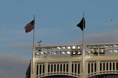 """Yankee game 9/11/2014. """"And our flag was still there"""""""