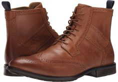 $185, Sebago Dresden Wing Tip Boot. Sold by Zappos. Click for more info: https://lookastic.com/men/shop_items/375311/redirect