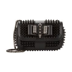 Christian Louboutin Spiked Sweety Charity Crossbody Bag. I love all the embellishments.