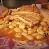 Délice de cassoulet - Ma cuisine débutante Cooking Chef, Macaroni And Cheese, Food And Drink, Meat, Chicken, Vegetables, Ethnic Recipes, Voici, Conservation
