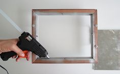 How to Make a Mirror Tray