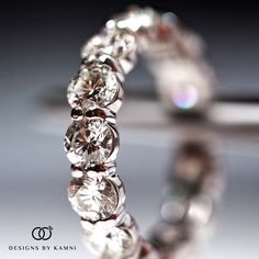 Gorgeous 20 Pointer Diamonds Perfectly Matched on this Platinum Wedding Band. Great prices and impeccable craftsmanship, Kamni loves to focus on the *details* #yourdiamondgirl #trustyourjeweler #designsbykamni email info@designsbykamni.com or text/call  516-216-0015 for details, pricing and inquiries on custom orders!