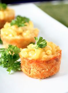 mini mac n cheese bites