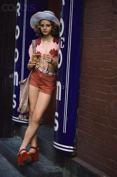 This summer I plan on channeling Jodi Foster in Taxi Driver. Shorts, Chunky heels, and floppy hats? yes please