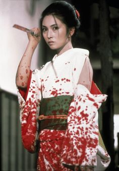 Yuki is raised as an assassin and only wishes to kill the criminals who killed her family that she will never meet. Quentin Tarantino used inspiration from film 'Lady Snowblood' for 'Kill Bill' scenes Imperator Furiosa, Japanese Film, Film Stills, Lady, Pop Culture, At Least, Actresses, Image, Blood