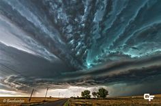 Supercell tempest. Fort Morgan, Colorado-USA July 20, 2013 - Colt Forney