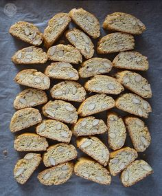 Cantucci   Wyzwania Kuchenne Scones, I Foods, Almond, Muffins, Candy, Cookies, Blog, Crack Crackers, Muffin