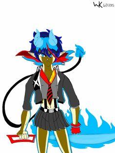 anime (fusion)/multliverse: ryuko matoi/rin okumura
