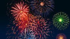 Fuegos artificiales; fireworks  Eg: los fuegos artificiales del Forum fueron maravillosos