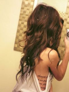 My next hair cut when it gets that long with ombré coloring! :)