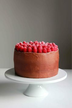 Feed Your Sole: Chocolate and raspberry Cheesecake!