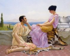 Youth and Time by John William Godward