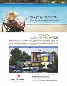 Trinity Luxuryscapes - Magazine Ad