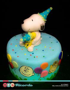 #MiercolesDeGaleria  Cumpleaños Snoopy  Nada mejor que celebrar tu cumpleaños…