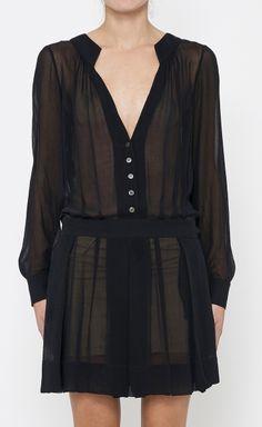 Derek Lam Black Dress   VAUNTE