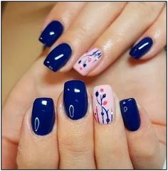 TOP 9 New Nail Art Design ❤️💅 Nails Art Ideas Compilation 2019 - Nail art designs New Nail Art Design, Fall Nail Art Designs, Christmas Nail Art Designs, Acrylic Nail Designs, Nails Design, Acrylic Nails, Christmas Nails, Floral Designs, Toe Nail Designs Easy