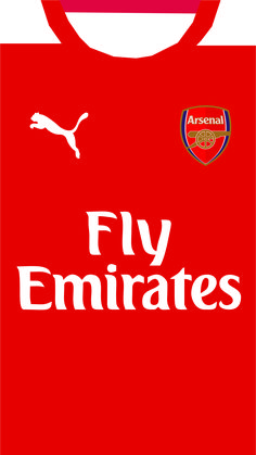 Arsenal Kit Wallpaper for iPhone