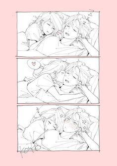 Too Kawaii to not be added and because you weren't adding it, I did ; Couple Amour Anime, Couple Anime Manga, Anime Love Couple, Manga Anime, Cute Couple Comics, Cute Couple Art, Cute Comics, Couples Comics, Cute Couple Drawings