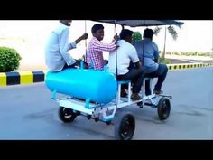 Compressed air vehicle (Mechanical Engineering Project, BIS College Moga, Punjab)) - YouTube
