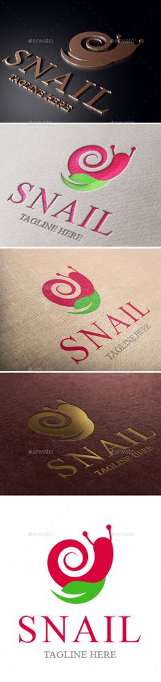Snail Logo - Animals Logo Templates Download here : https://graphicriver.net/item/snail-logo/19260849?s_rank=28&ref=Al-fatih