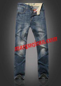 Vendre Jeans Replay Homme H0003 Pas Cher En Ligne.