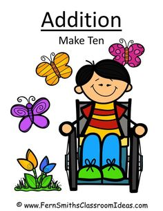 Fern Smith's FREE Addition Center - Make Ten Concept